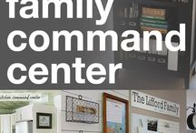Family command centers / Notes, mail, calendar, 'I need' lists visible to all in the house. / by Louise Gilbert