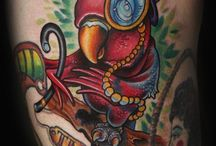 Illustrative tattoos
