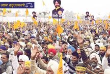 Election Rally at Halka Guruharsahai