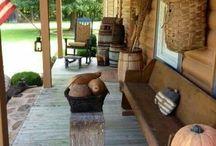 ♥ verandák & teraszok