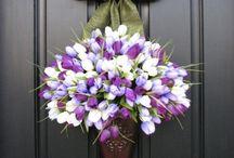 Húsvéti ajtódíszek