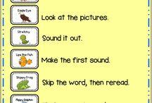 Reading - kindergarten