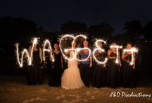 Light The Night Up! / We love taking sparklers, flashlights, glow sticks, anything that brings light to your special night! Here are some examples.