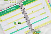 Planner Organization + Inspiration / My obsession with planning :)  / by Shannon Sullivan