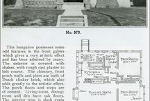 Layouts / Vintage floor plans I find inspirational. / by Marisa Ross