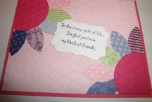 Stampin Up Friends cards