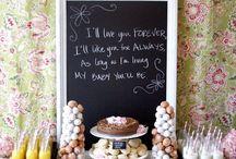 wedding foods / by Courtney Elledge