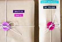 Gift Labeling