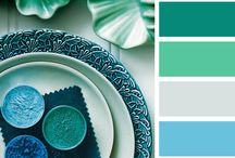 Sea Blue/Green Colour Combinations