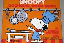 Get Cooking with Chef Snoopy / Snoopy is cooking up his favorite treats with the help of Woodstock and Charlie Brown. For more Snoopy, Charlie Brown and Peanuts goodness, visit us at CollectPeanuts.com and check out our other boards.