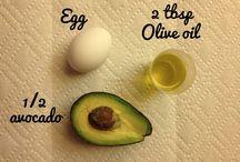 Hair natural recipes