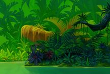 BG Lion King / Backgrounds from The Lion King