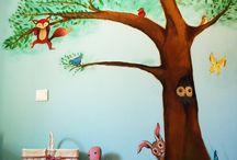 art in life konstantina kids room mural / ζωγραφική σε παιδικά δωμάτια, χρώμα,φαντασία και τέχνη στην καθημερινότητα του παιδίου ιδανικός τρόπος διακόσμησης και παιδείας