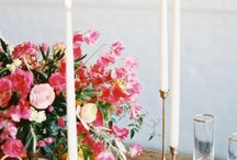 Bright & Colorful Organic Mountain Wedding