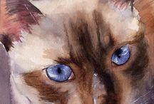 Watercolor Animals / by Carolyn Hollingshead