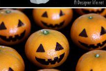 Halloween hedelmät