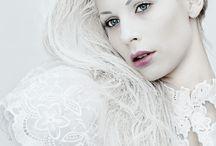 White as Snow Fashion Photography / Striking!