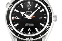 Seamaster models I like / This is another research board I am creating to find out the models and reference numbers of the Planet Oceans, 300's, and Aqua Terras I like / by Matthew Scheuerman