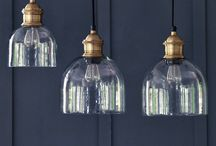 Lovely Lighting / Lighting ideas - vintage farmhouse, french industrial & shabby chic inspirations