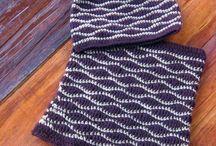 Knitinnig , crochet by Wydziergane z pasja