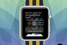 Nyloon Apple Watch Bands / Best third party Apple Watch bands.