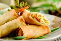Asian - Egg-, Spring Rolls / by Claudi Gallagher