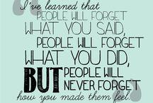 Quotes / by Deborah Wood
