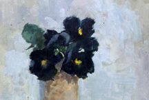 Art to Inspire :: Floral Pieces / Still-life paintings that include flowers in the compositions