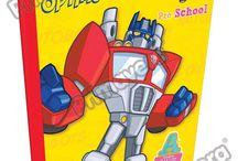 Cuadernos Rescue Bots / Línea Escolar Primavera Regresa a Clases con TODO