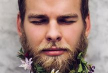 Floral Beards...every man should have one! / Amazing floral beards.