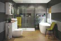 Salle de Bain / Ideias e conceitos, banheiras e toalhas...