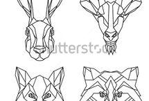 2D зверята