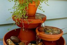 small garden water fountians