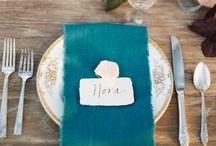 Biscay Bay PANTONE 18-4726 Wedding Fall 2015