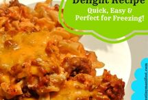 Foodies: Casseroles / by A Peek Into My Paradise