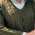 Crochet clothes for men