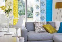 Blue & Yellow Decor
