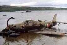 WW2 Aircraft Wrecks & Relics