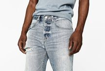 Fresh styles in Men's denim jeans
