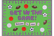Sports theme classroom / by Carrie Martin
