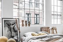 Bedroom / bedroom, interior inspiration, design, linen, home, living,