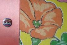 Chant de Fleurs / Cahier artisanale et décoration fait main