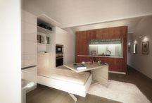 interior / interior of small flat