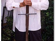 Medieval menswear / Pirate,poet,romantic,knight,King Arthur groom