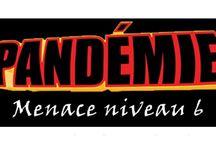Pandémie - Menace Niveau 6 / Extension d'un fan du jeu