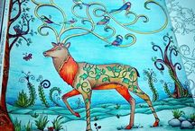 Floresta Encantada - Veado / Enchanted Forest - Deer