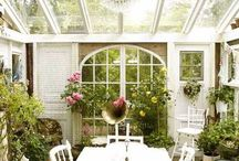 Inside and Out / Ideas for the house, porch, garden and greenhouse.