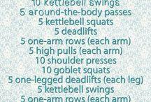 Wally's Workouts / Amanda W's favorite gym workouts!