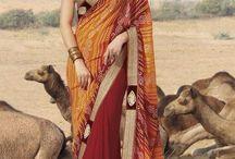 heavy Worked Saree Sarees