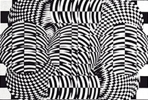 AMVWART / Some of my OpArt Paintings